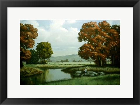 Framed Autumn Trees 1 Print