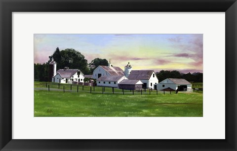 Framed Paxson Farm Print