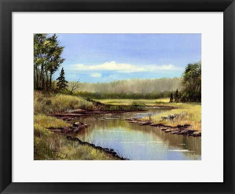 Framed Meadow 1 Print