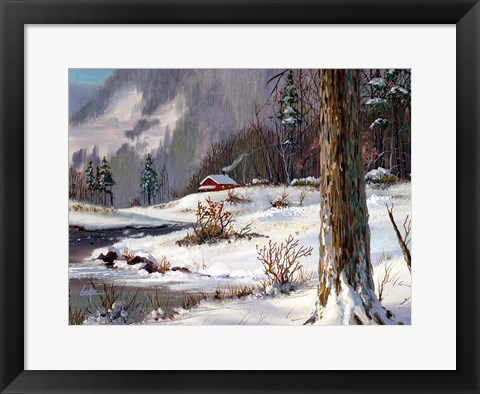 Framed Winter 2 Print