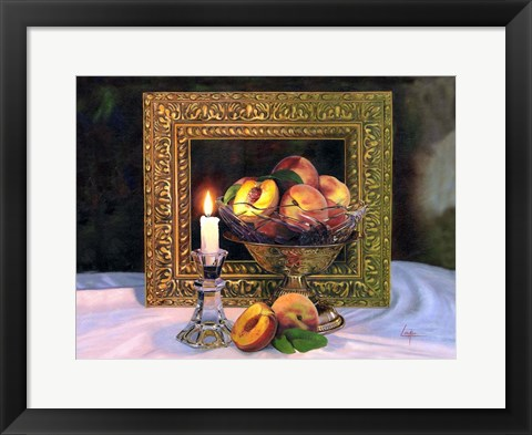 Framed Candle Print