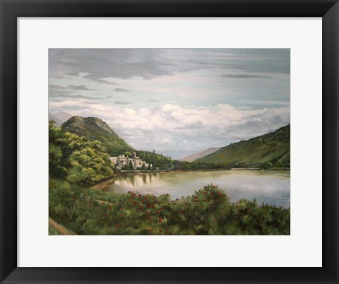Framed Kylemore Abbey Print