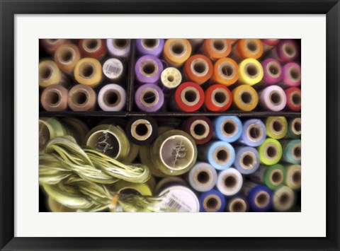 Framed Cotton Reels Print