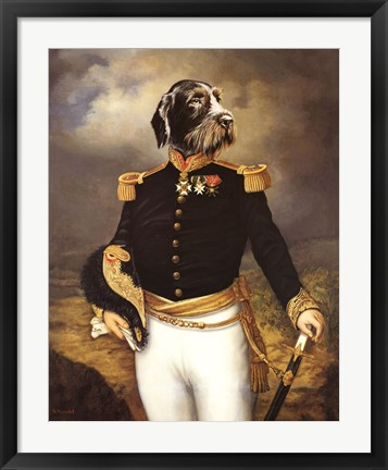 Framed Ceremonial Dress Print