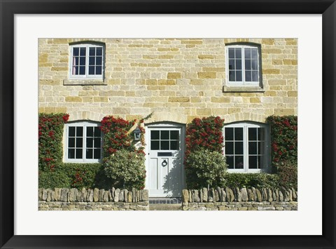 Framed Cotswolds Cottage Print