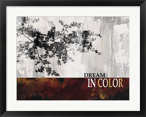 Framed Dream in Color Print