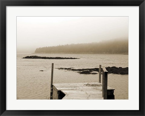 Framed Still Morning II Print