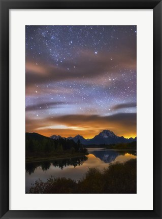 Framed Oxbow Dreams Print