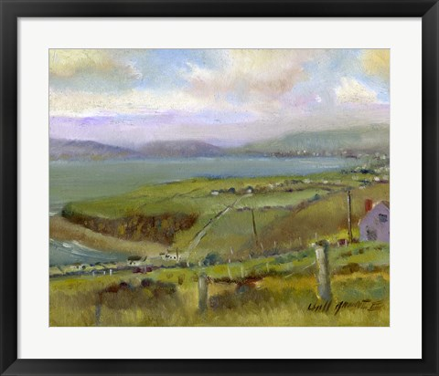 Framed Ring of Kerry Morning Print