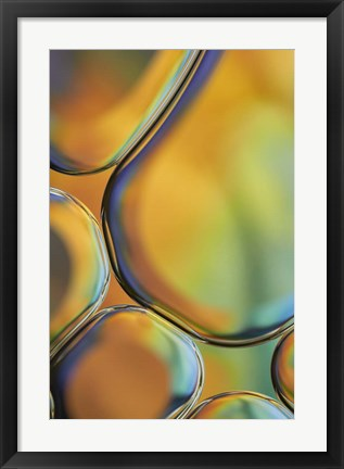 Framed Orange Drops Print