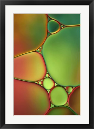 Framed Stained Glass II Print