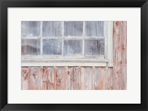 Framed Little Windows II Print