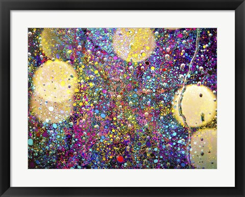 Framed Party In The Rain Print