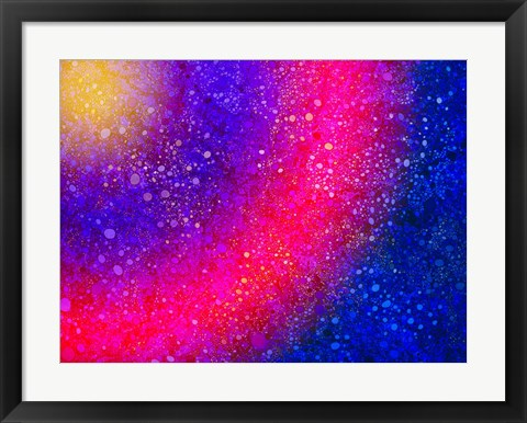 Framed Rainbow On Steroids Print