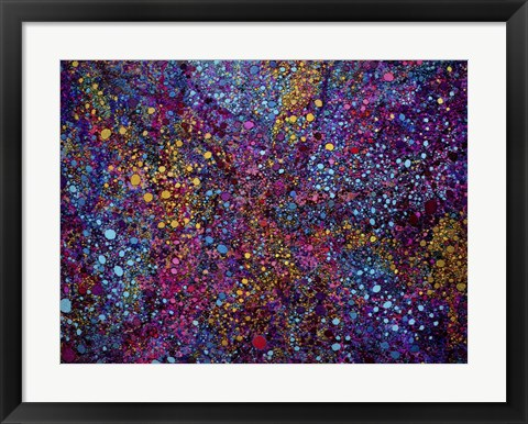 Framed Textured Chaos Print