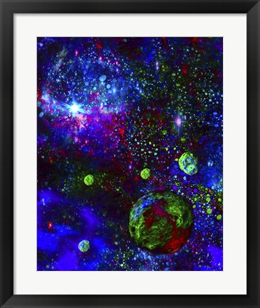 Framed Space Gypsies Print