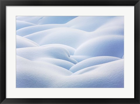 Framed White as Snow Print