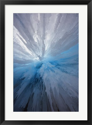 Framed Frozen Solid Print