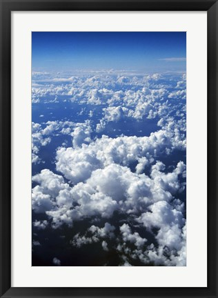 Framed Above the Clouds Print