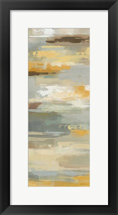 Framed Earth Abstracts II Print
