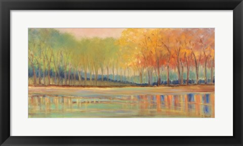 Framed Flowing Streams Revisited Print