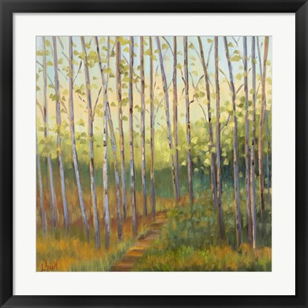 Framed Vista Trees Print