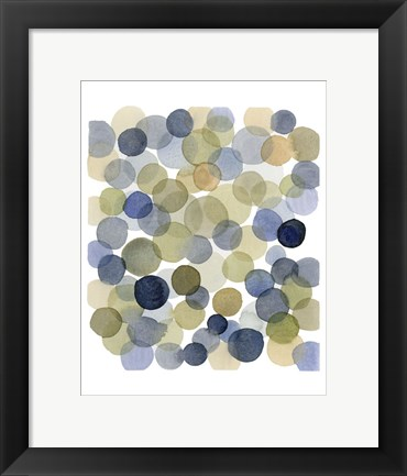 Framed Series Dots Autumn Print