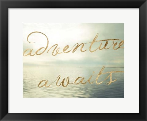 Framed Water Bliss II Print