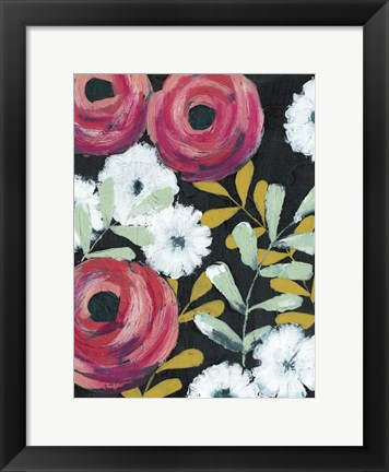 Framed Flor de Color I Print
