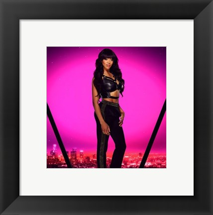 Framed Alicia Fox 2016 Total Divas Print