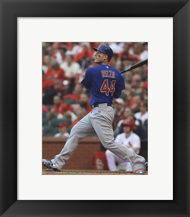 Framed Anthony Rizzo 2016 Action Print