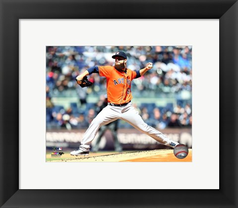 Framed Dallas Keuchel 2016 Action Print