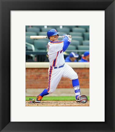 Framed David Wright 2016 Action Print