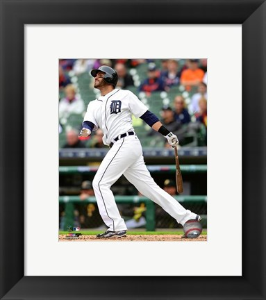 Framed J.D. Martinez 2016 Action Print