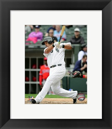 Framed Jose Abreu 2016 Action Print