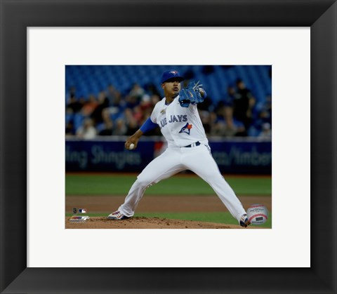 Framed Marcus Stroman 2016 Action Print