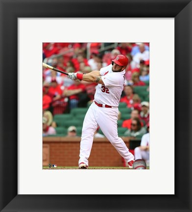 Framed Matt Adams 2016 Action Print