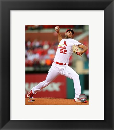 Framed Michael Wacha 2016 Action Print
