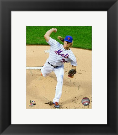 Framed Noah Syndergaard 2016 Action Print