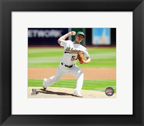 Framed Sonny Gray 2016 Action Print