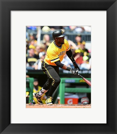 Framed Starling Marte 2016 Action Print