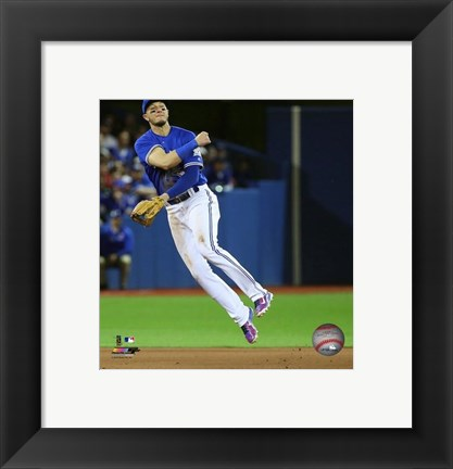 Framed Troy Tulowitzki 2016 Action Print