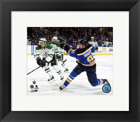Framed Vladimir Tarasenko 2016 Stanley Cup Playoffs Action Print