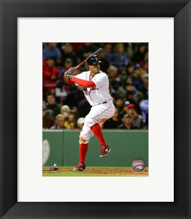 Framed Xander Bogaerts 2016 Action Print