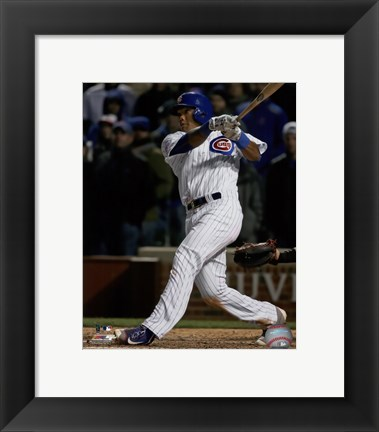 Framed Addison Russell 2016 Action Print