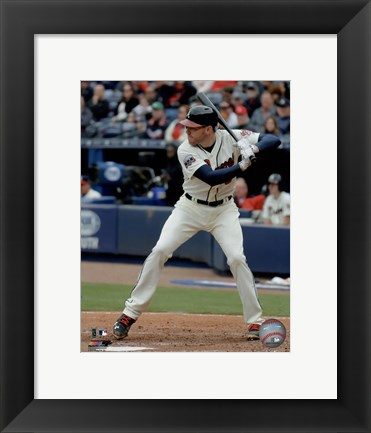 Framed Freddie Freeman 2016 Action Print