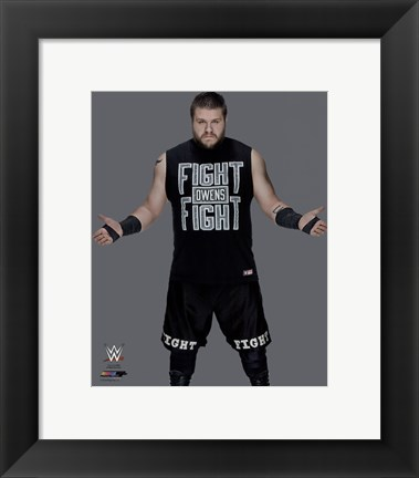 Framed Kevin Owens 2016 Posed Print