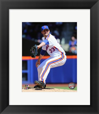 Framed Matt Harvey 2016 Action Print