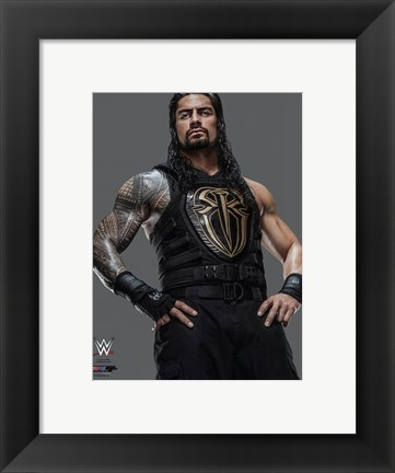 Framed Roman Reigns 2016 Posed Print