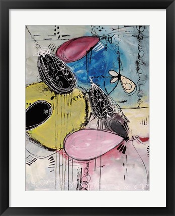 Framed Motus du Bubble Gomme Print
